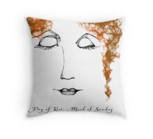 Mood of Sunday... A Day of Rest Throw Pillow