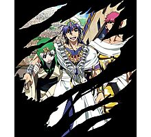 magi sinbad masrur ja'far anime manga shirt Photographic Print