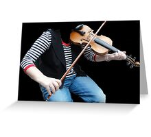 Hobby in C Major Greeting Card