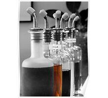 bottles of flavor Poster