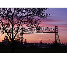Jordan Bridge Sunset Photographic Print
