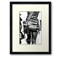 Miss Mad Max To You Framed Print