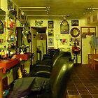 Barbers Shop Interior by magicaltrails