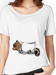Kitty Pouch Women's Relaxed Fit T-Shirt