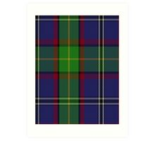 00146 Minnesota District Tartan  Art Print