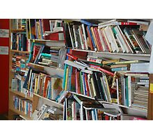 The Bookcase Photographic Print