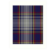 00149 Nevada District Tartan  Art Print