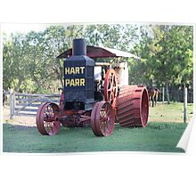Hart Parr 30-60 Tractor Poster