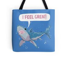 Shark Greatness is All About Attitude  Tote Bag
