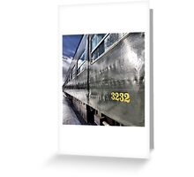 thirty two, thirty two Greeting Card