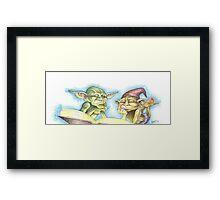 Goblin Book Framed Print