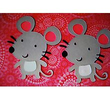 Two mice Photographic Print