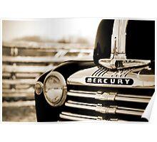 1947 Mercury Truck Poster