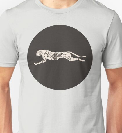 Cheetah Sprinting - Variant Two Unisex T-Shirt