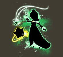 Super Smash Bros. Green Rosalina Silhouette Unisex T-Shirt