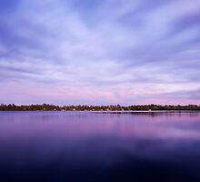 Dusk at Beaver Lake by Rob Smith