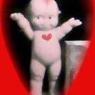 Cupie Valentine card, by MaeBelle