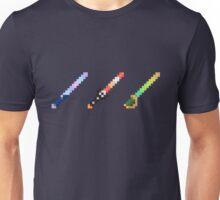 Disneyland Minecraft Glow Swords Unisex T-Shirt