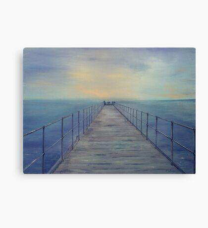 Summer Holidays - Pt Rickaby SA Canvas Print