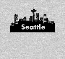 Seattle - (2) Womens Fitted T-Shirt