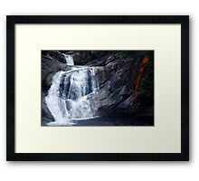 Top End of Josephine Falls, FNQ, AU Framed Print