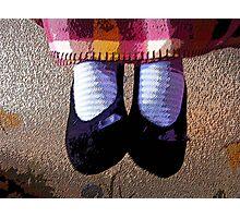 Cozy Feet Photographic Print