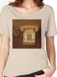 Vintage Retro Telephone Women's Relaxed Fit T-Shirt