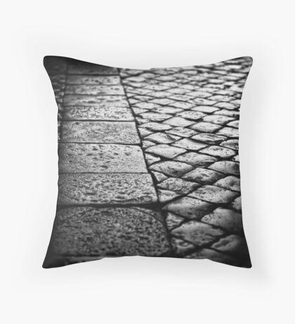 St Peters cobblestones Throw Pillow
