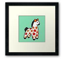 Dymkovo horse Framed Print