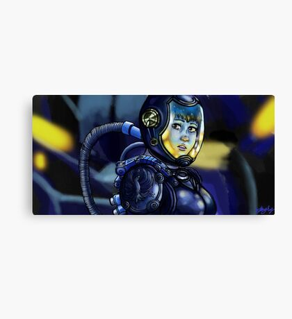Inside the Gypsy Danger Canvas Print