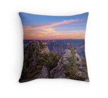 North Rim Throw Pillow
