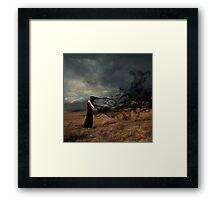 Spirits in the Black Mist Framed Print