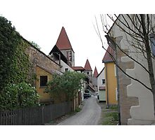 Small Lane in Amberg Photographic Print