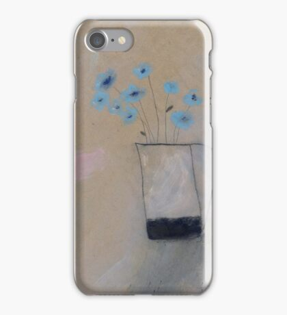 corn flowers iPhone Case/Skin