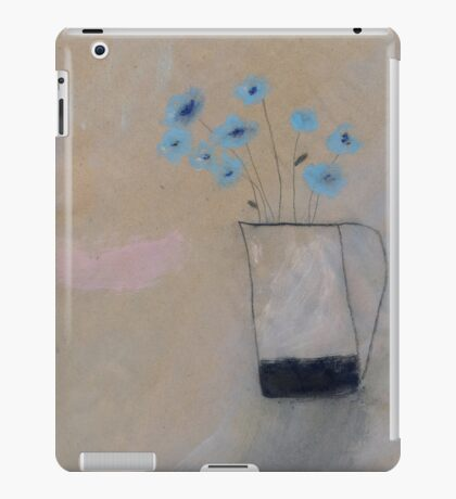 corn flowers iPad Case/Skin