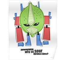 Optimus Lime. Poster
