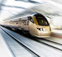 Gautrain - High Speed Commuter Train by RatManDude