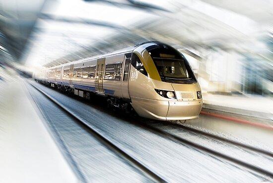 Gautrain - High Speed Commuter Train by RatManDude