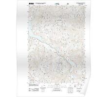 USGS Topo Map Oregon Westfir West 20110722 TM Poster