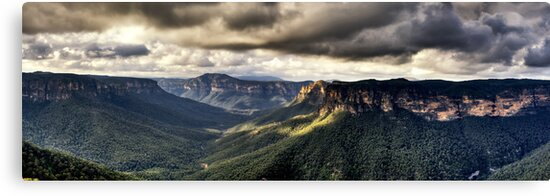 Evans Lookout Blackheath Blue Mountains Australia by DavidIori