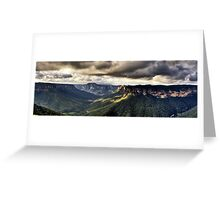 Evans Lookout Blackheath Blue Mountains Australia Greeting Card