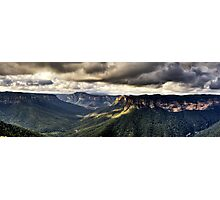 Evans Lookout Blackheath Blue Mountains Australia Photographic Print
