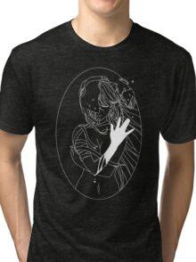 Elfen Lied - White Tri-blend T-Shirt