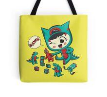 Tiny Monster Tote Bag