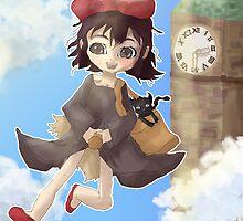 Kiki's Delivery Service by jooweeuh