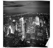 NYC: Citylights Poster