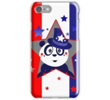Patriotic Panda - Patriotic Star iPhone Case/Skin