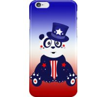 Patriotic Panda - Gradient iPhone Case/Skin