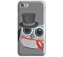 Top Hat Owl - Large iPhone Case/Skin