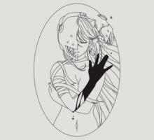 Elfen Lied - Black by Angrahius